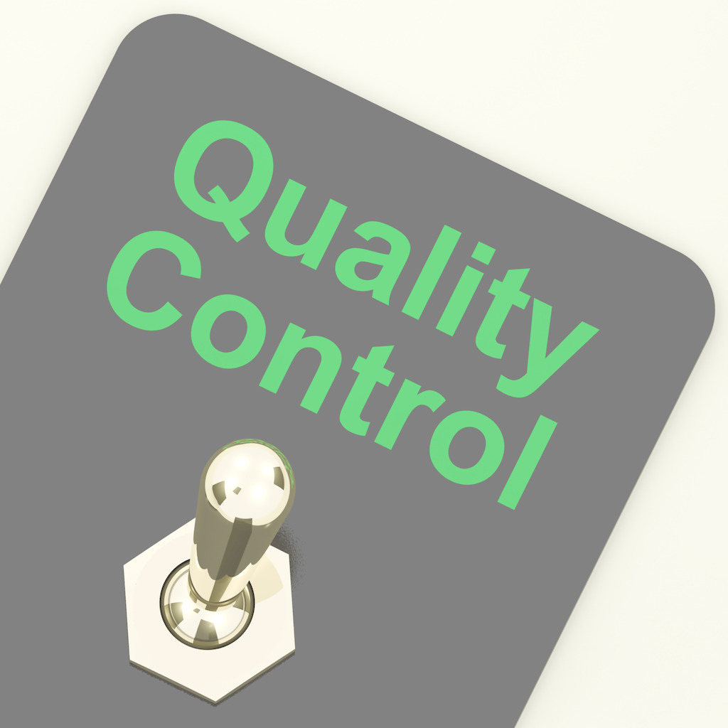 How can you ensure the quality inspection ?