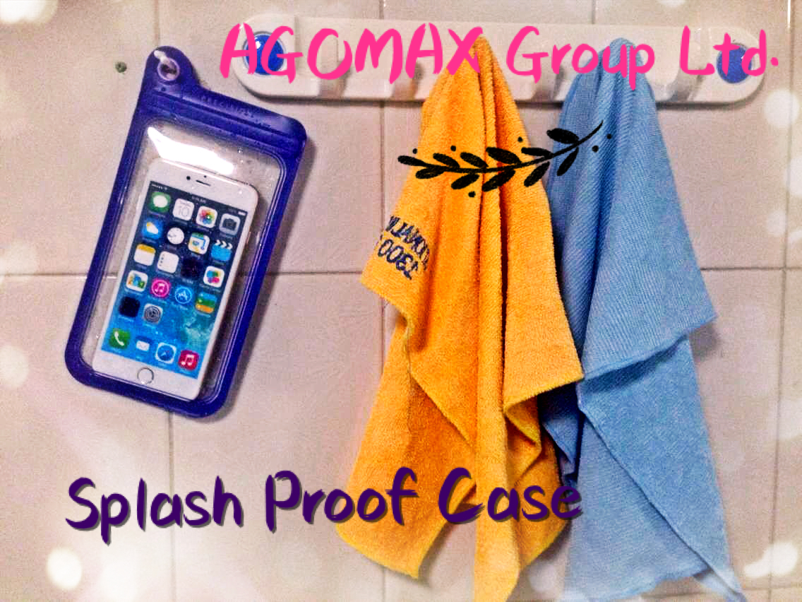 Protect your iPhone 6/6S from spills, splashes, and submersion with Agomax Waterproof Pouch __4.0