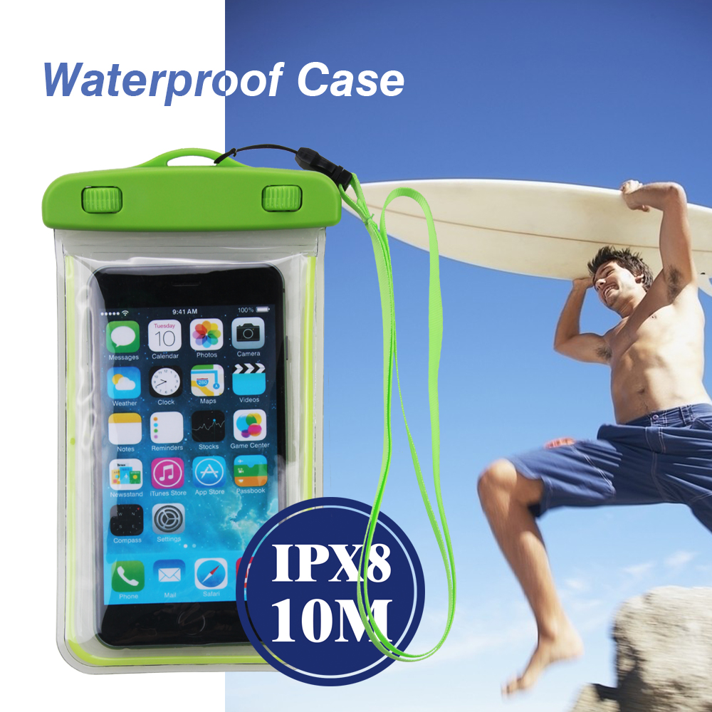 Stay calm and cool this summer with a waterproof case for your Android smartphone