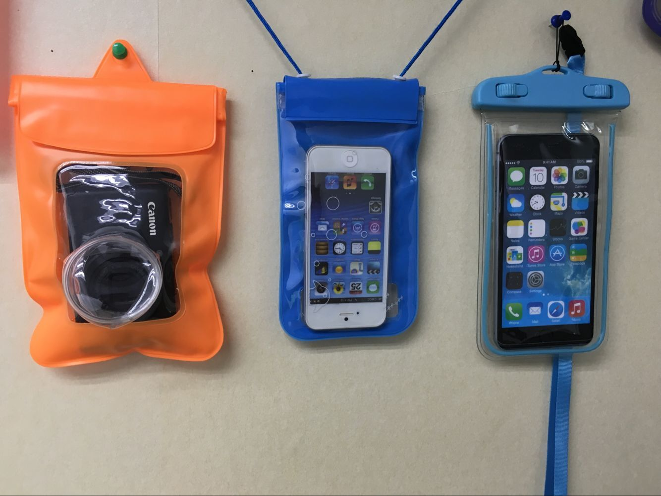 waterproof phone case devided